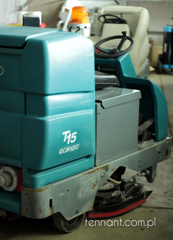 tennant T15 - urządzenia czyszczące szorujace